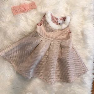 Very cute pink champagne dress.
